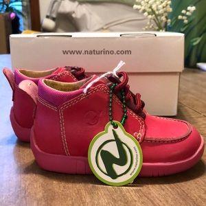 Naturino baby girl shoes